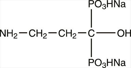 structural formula pamidronate disodium