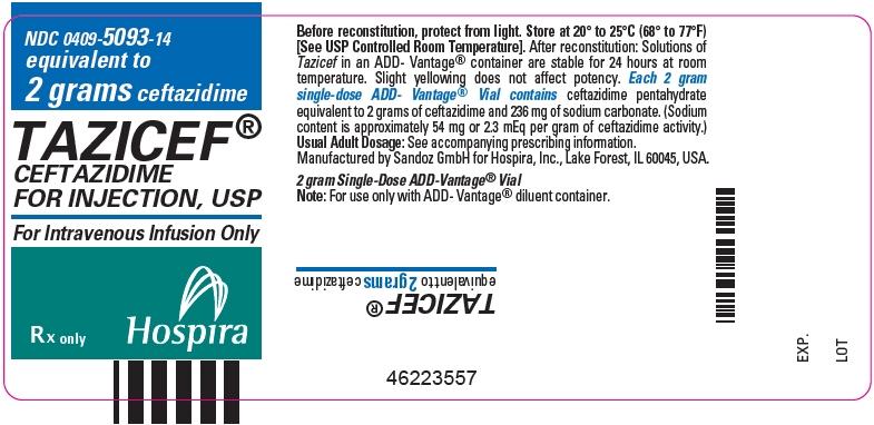 PRINCIPAL DISPLAY PANEL - 2 gram Vial Label