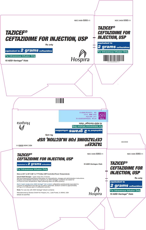 PRINCIPAL DISPLAY PANEL - 2 gram Vial Carton