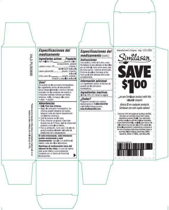 PRINCIPAL DISPLAY PANEL  Similasan® Itch Relief   ROLL-ON 7.5 mL/0.25 fl oz