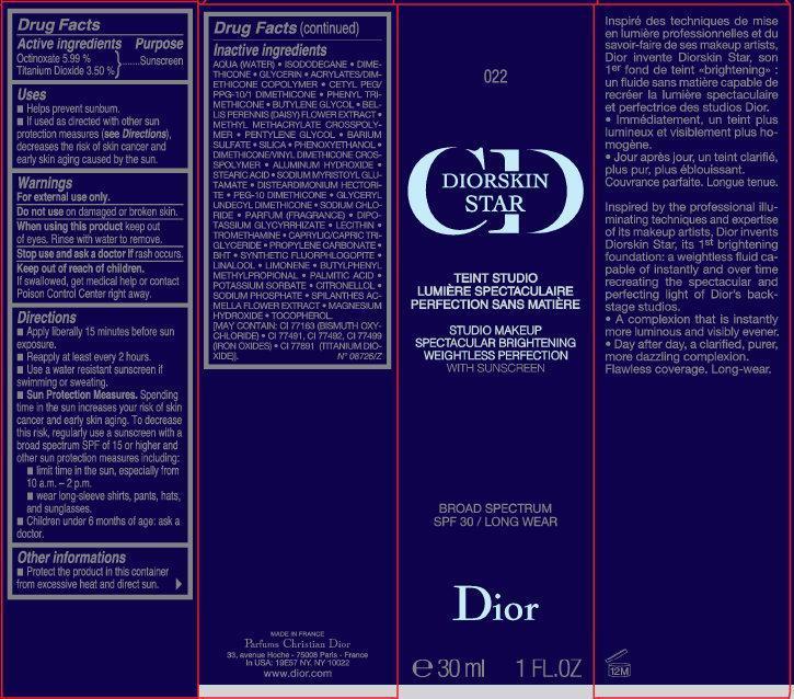 Dior Skin Star 022