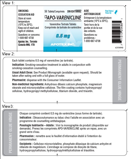 Containerlabel0.5mg56count
