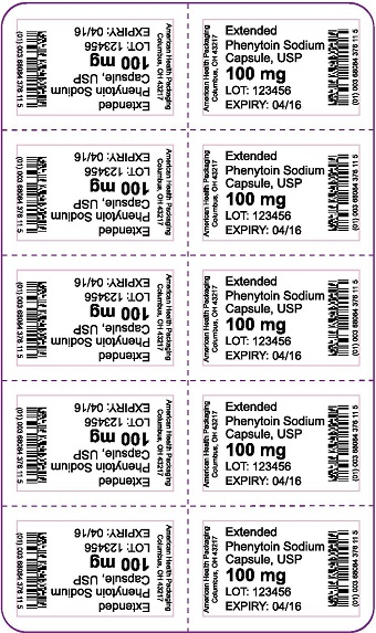 100 mg Extended Phenytoin Sodium Capsule Blister