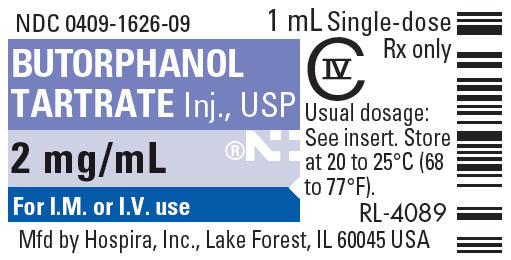 PRINCIPAL DISPLAY PANEL - 1 mL Vial Label