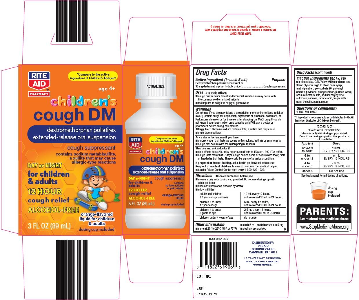 Rite Aid Cough DM image