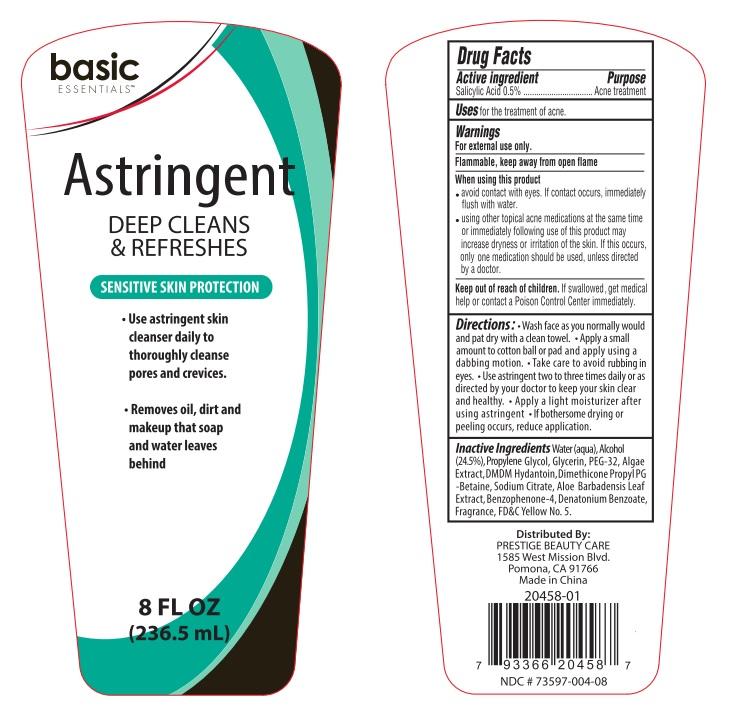 Basic Essentials Astringent