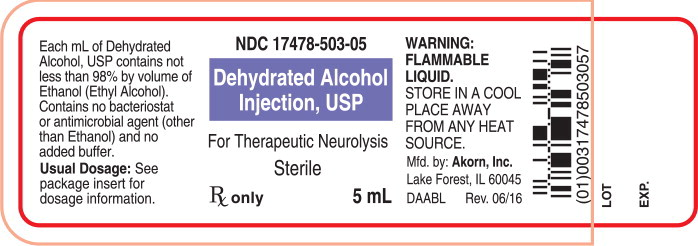 Principal Display Panel Text for Container Label