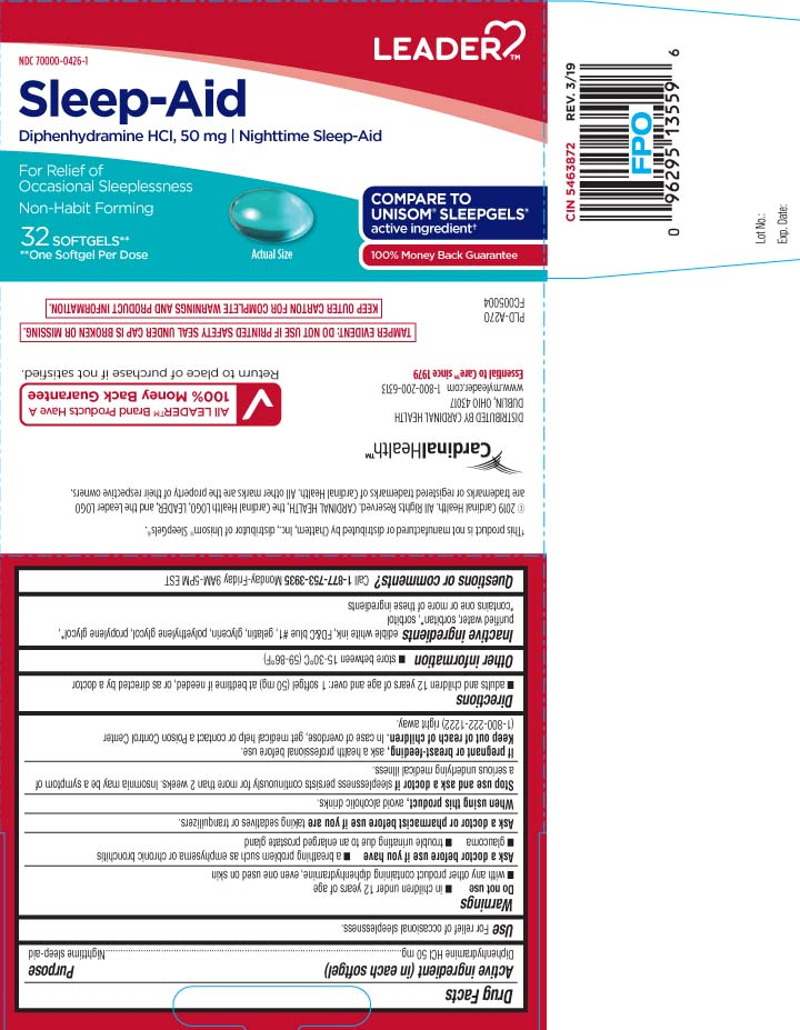 Diphenhydramine HCI 50 mg