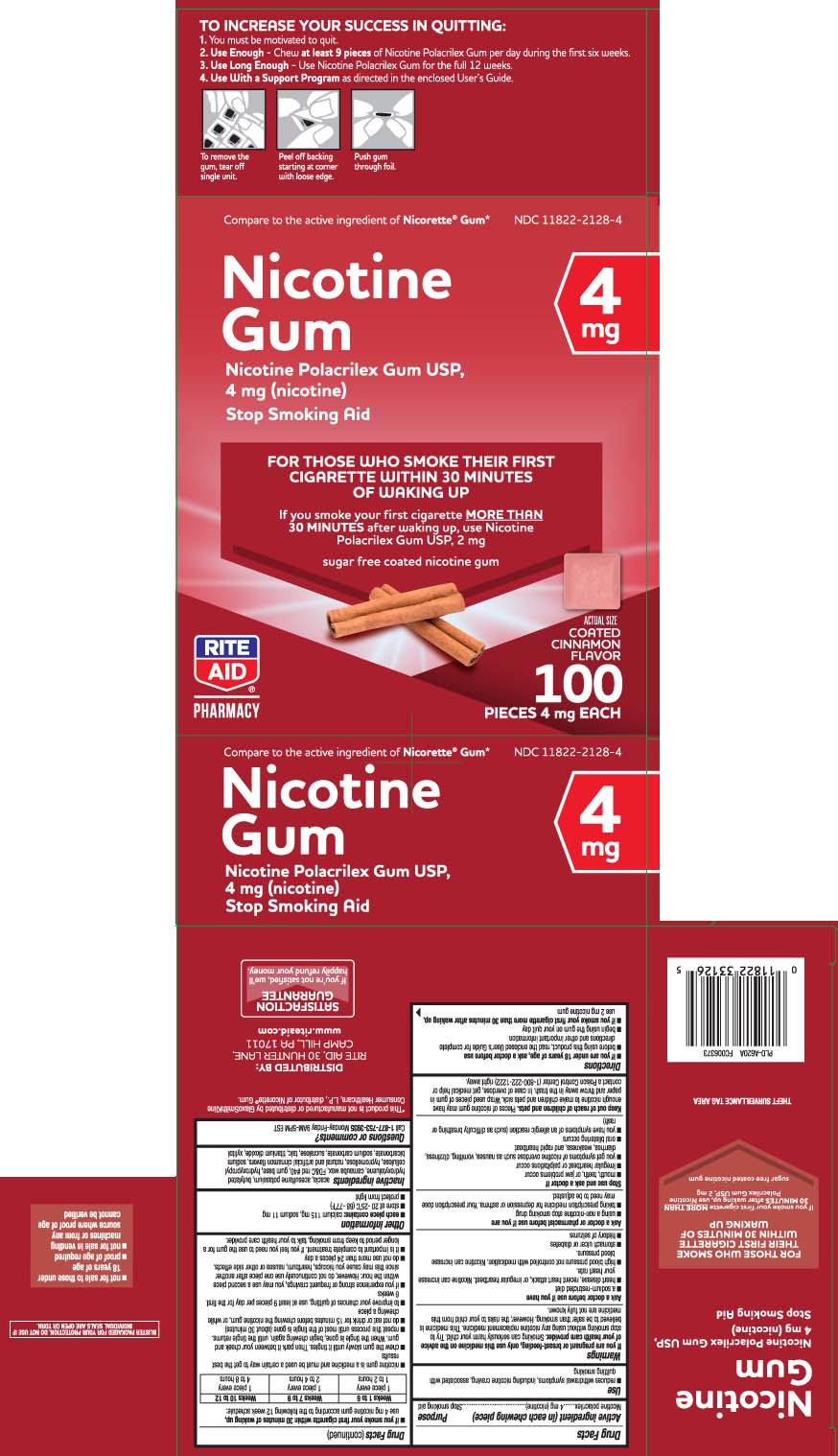 Nicotine polacrilex 4 mg (nicotine)
