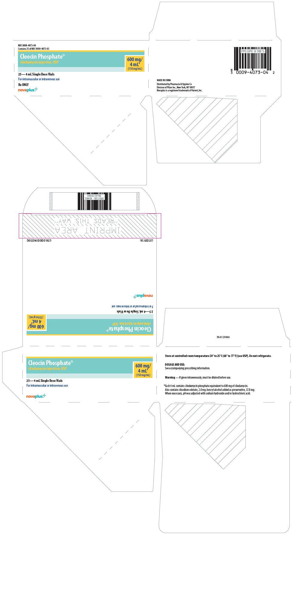 PRINCIPAL DISPLAY PANEL - 4 mL Vial Carton