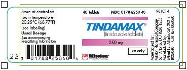 Tindamax Label 0178-8250-40