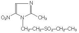 struct-tinidazole