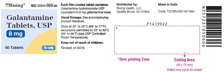 PACKAGE LABEL-PRINCIPAL DISPLAY PANEL - 8 mg (60 Tablets Bottle)