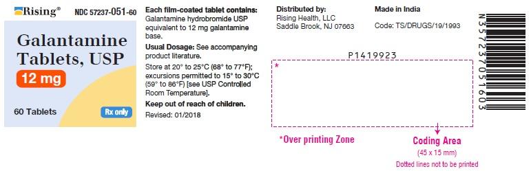 PACKAGE LABEL-PRINCIPAL DISPLAY PANEL - 12 mg (60 Tablets Bottle)