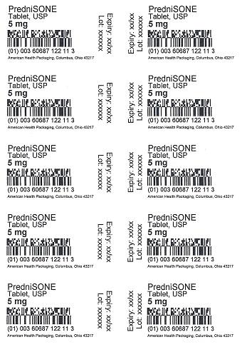 5 mg Prednisone Tablet Blister