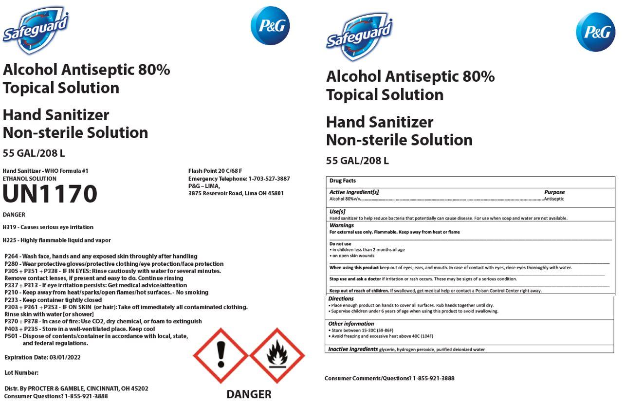 Safeguard label