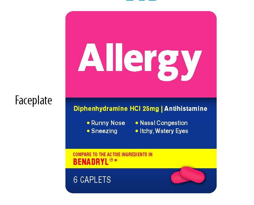 Allergy Faceplate