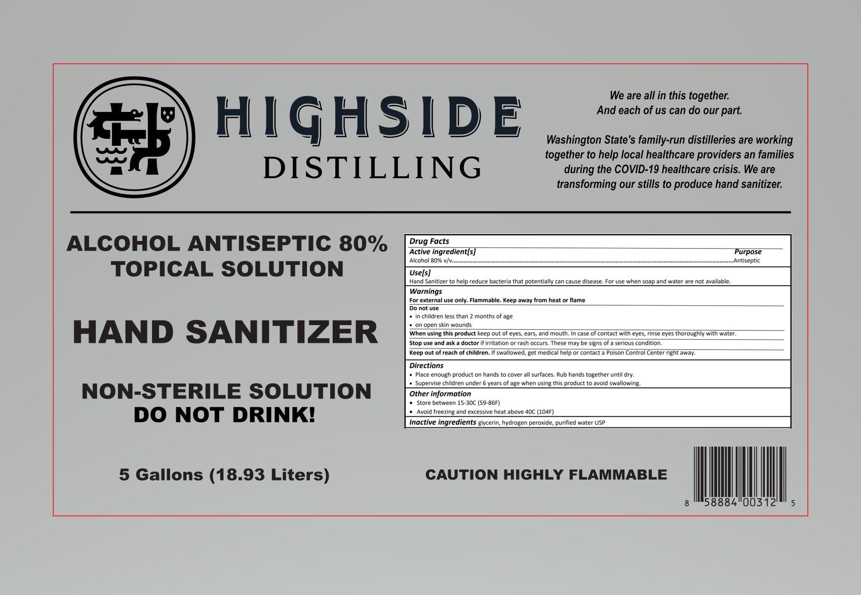 18.93 L Label