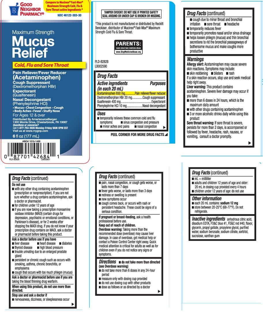 Acetaminophen 650 mg, Dextromethorphan HBr 20 mg, Guaifenesin 400 mg, Phenylephrine HCl 10 mg