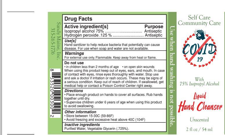 2oz Glass Spray Label