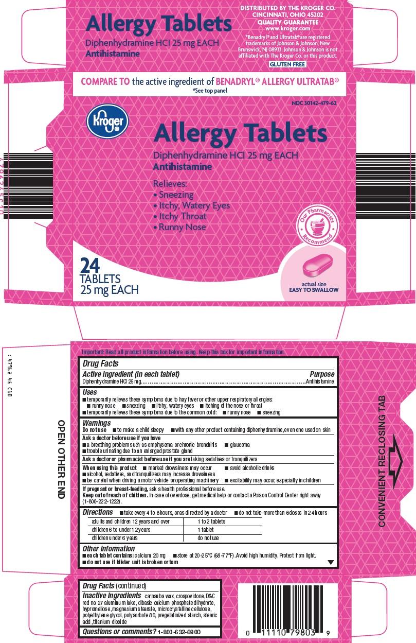 Kroger Allergy Tablets image