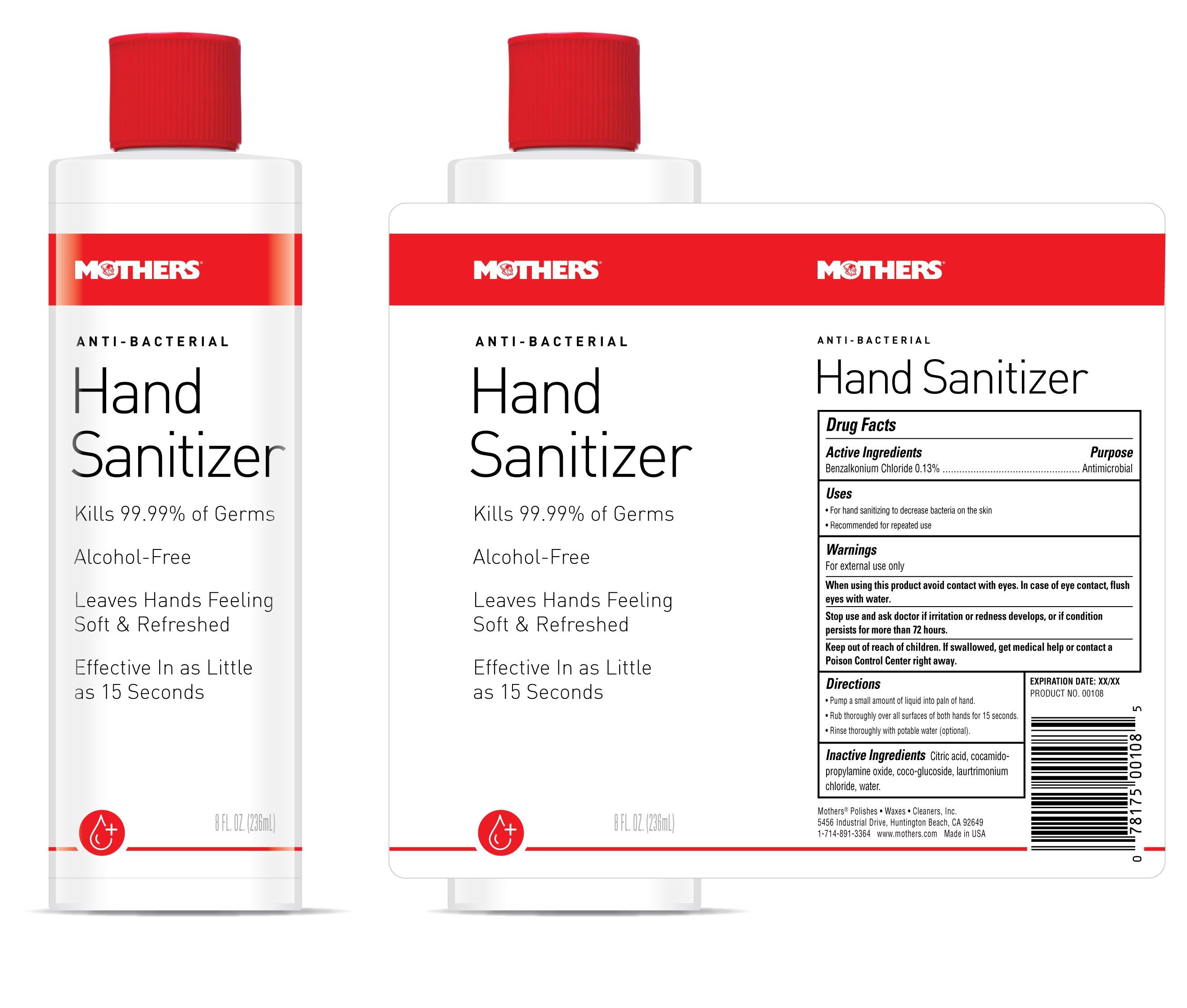 anti bacterial hand sanitizer