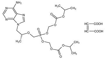 Tenofovir Structural Formula