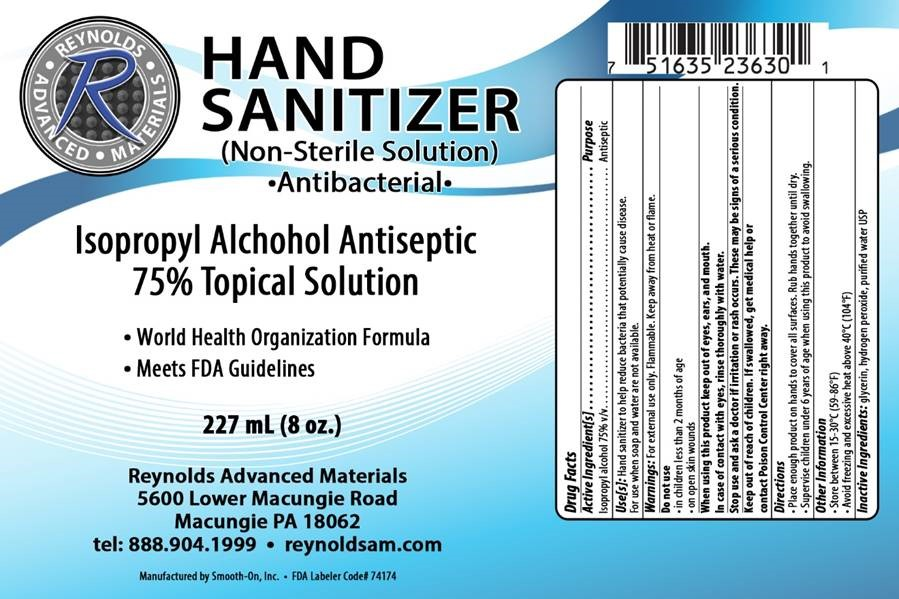 227 ml label