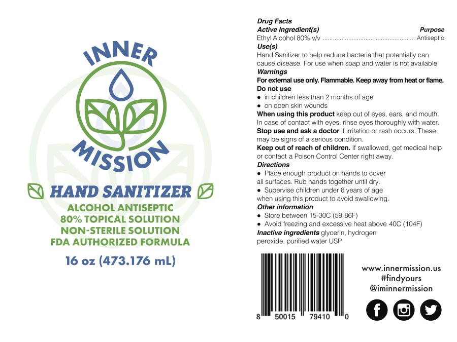 473 mL Package Label