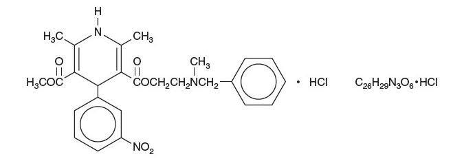Cardene Structural Formula