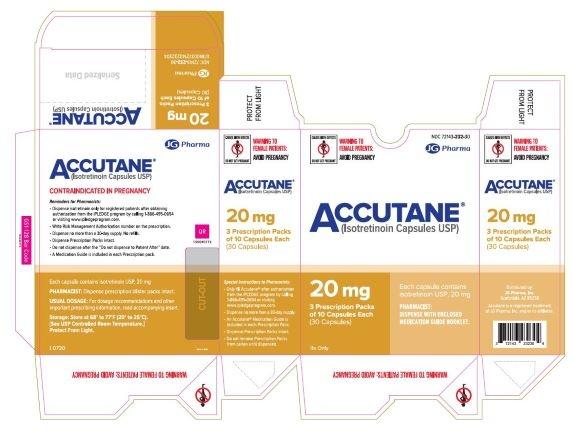 carton 20 mg