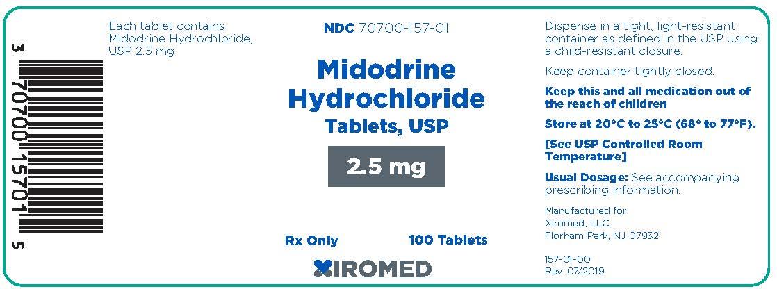 midodrine2-5mg