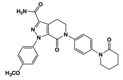 Apixaban Chemical Structure