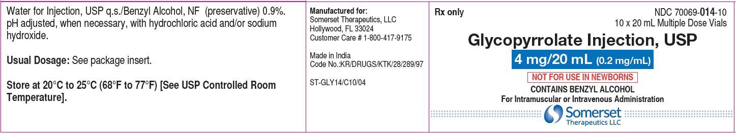 20 mL carton label