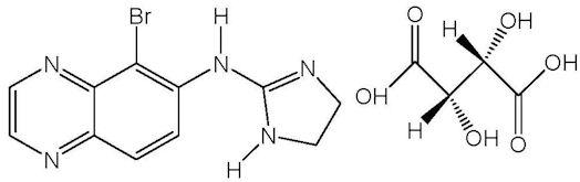 Brimonidine Chemical Structure