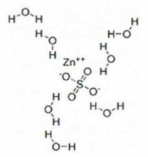 Zinc Sulfate Structural Formula