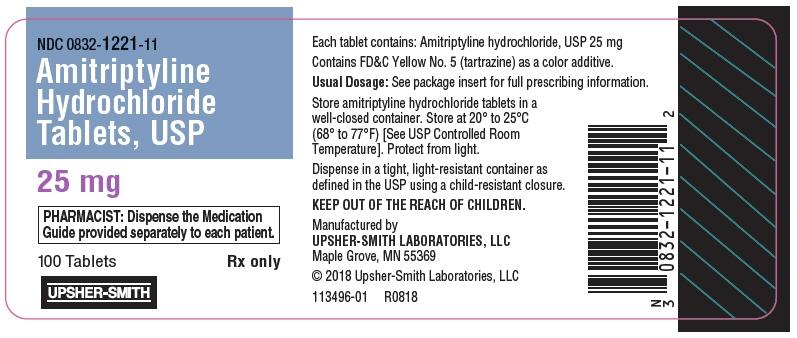 PRINCIPAL DISPLAY PANEL - 25 mg Bottle Label