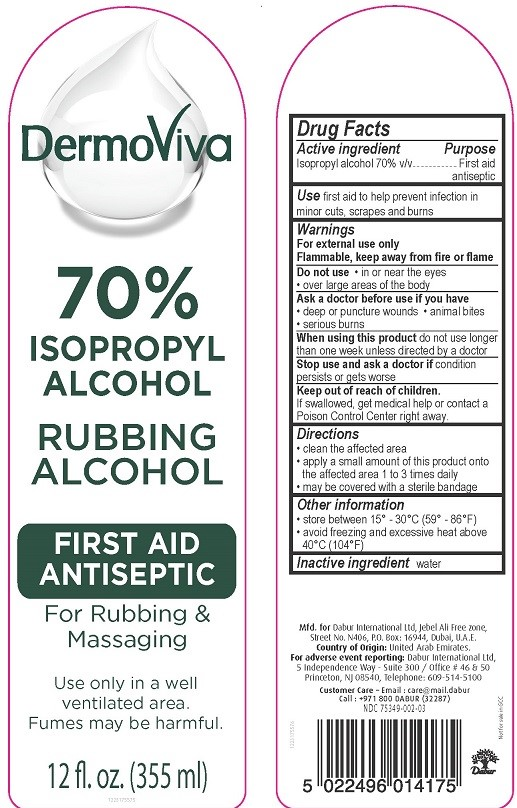 Dermoviva First Aid Final