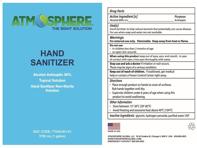 Hand sanitizer Label 1G