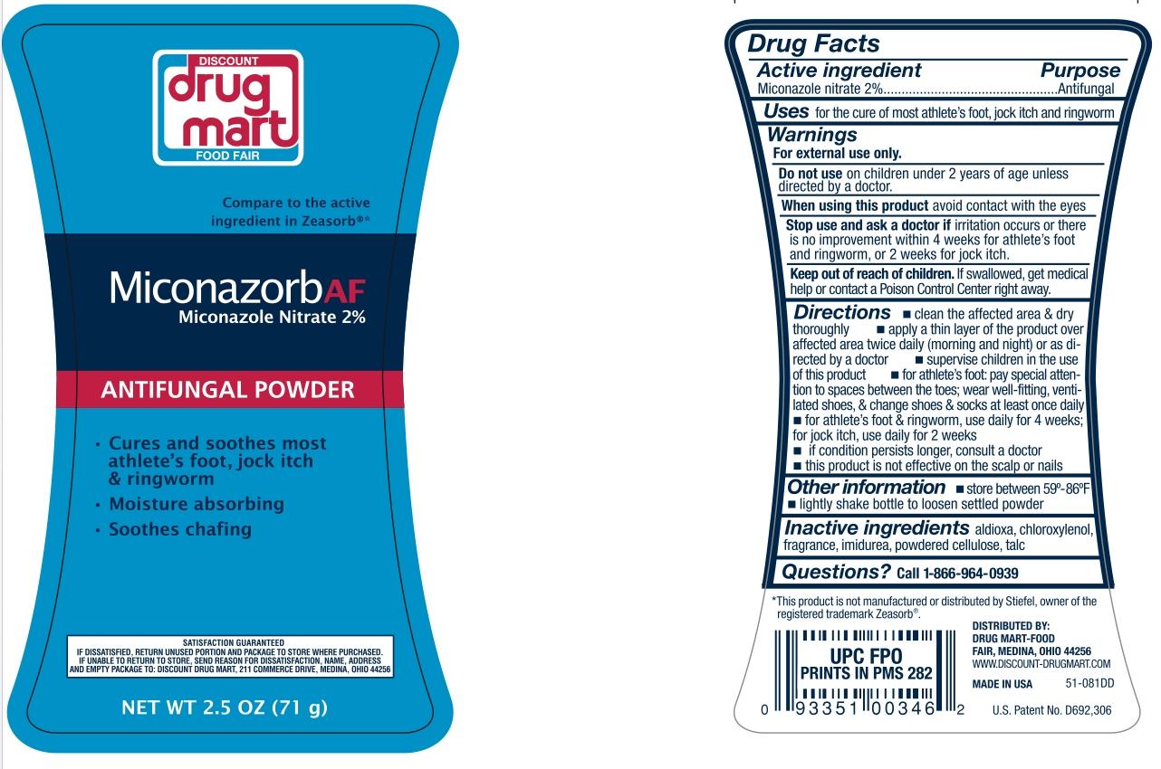Discount Drug Mart Miconazorb AF Powder