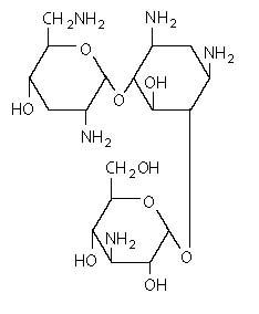 Tobramycin (structural formula)