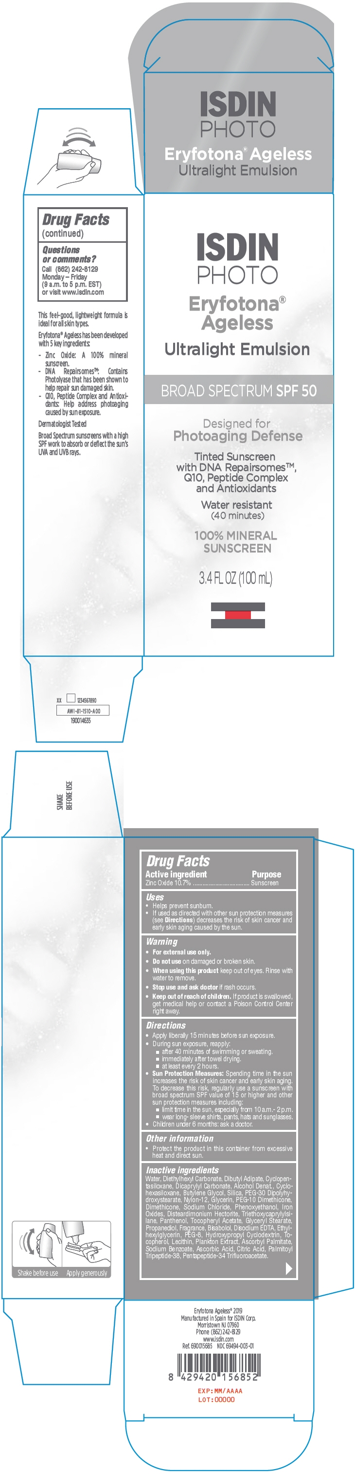 PRINCIPAL DISPLAY PANEL - 100 mL Bottle Carton