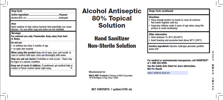 3785 ml Alcohol Topical Solution