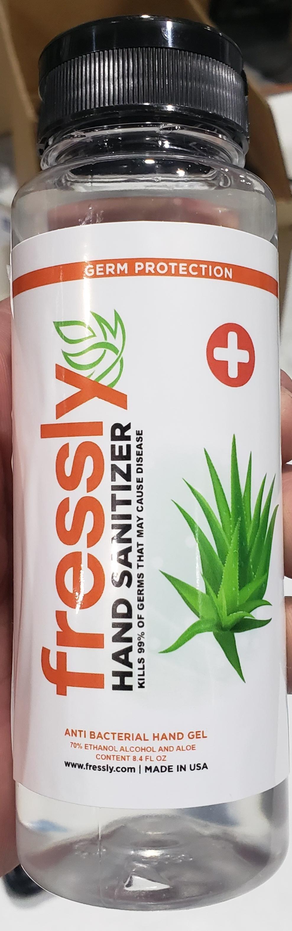 Fressly bottle image