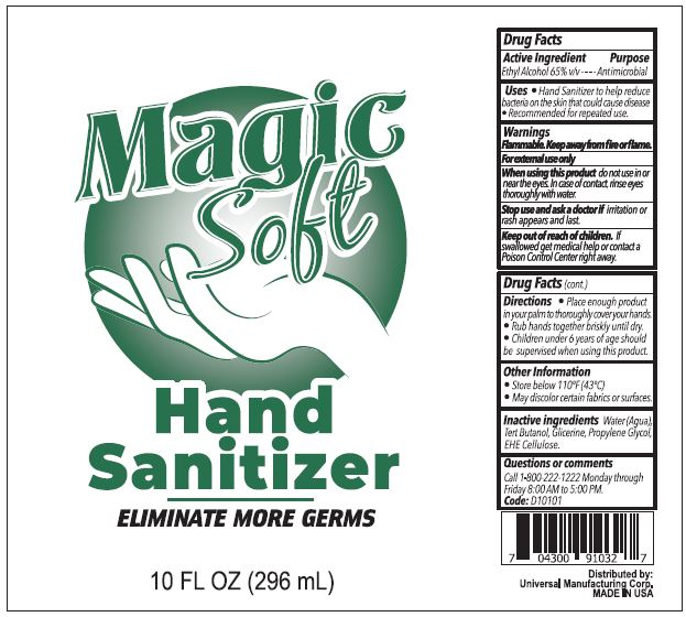 Magic Soft Hand Sanitizer 10 oz