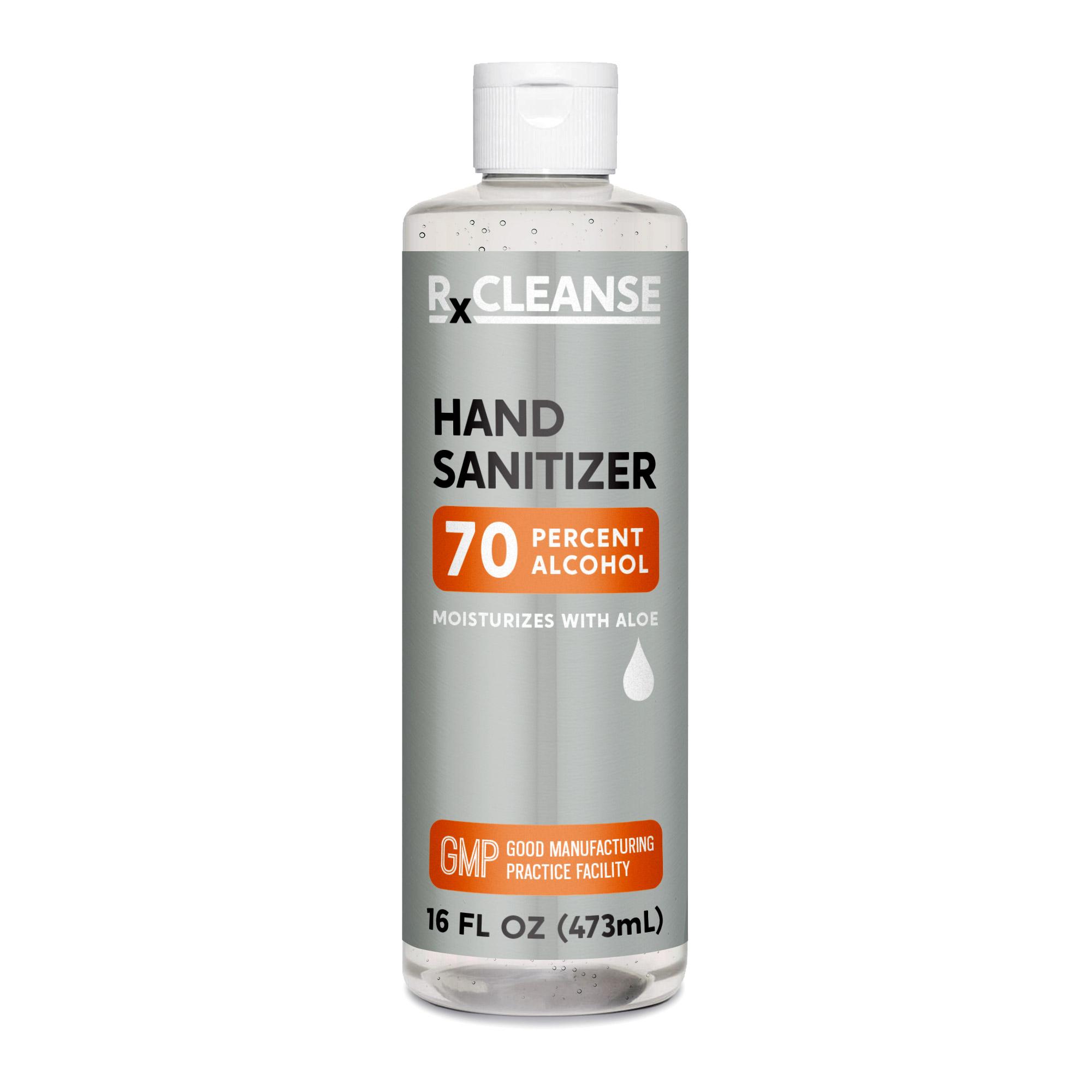 RxCLEANSE Hand Sanitizer RapidGel