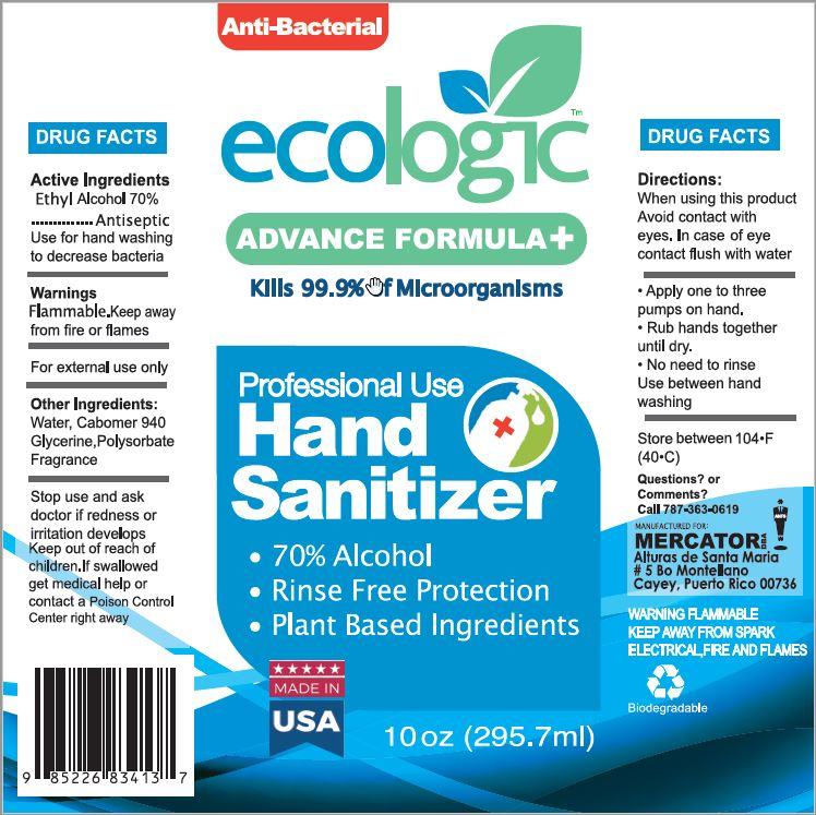 ECOLOGIC Hand Sanitizer