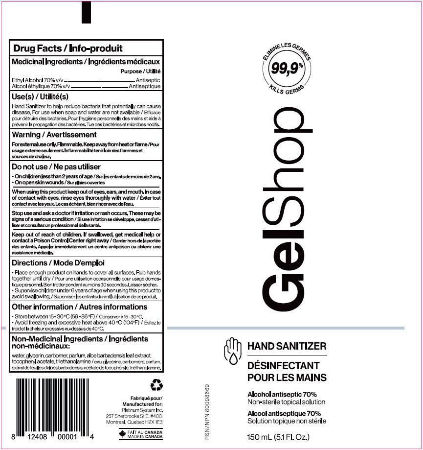 150 mL Label