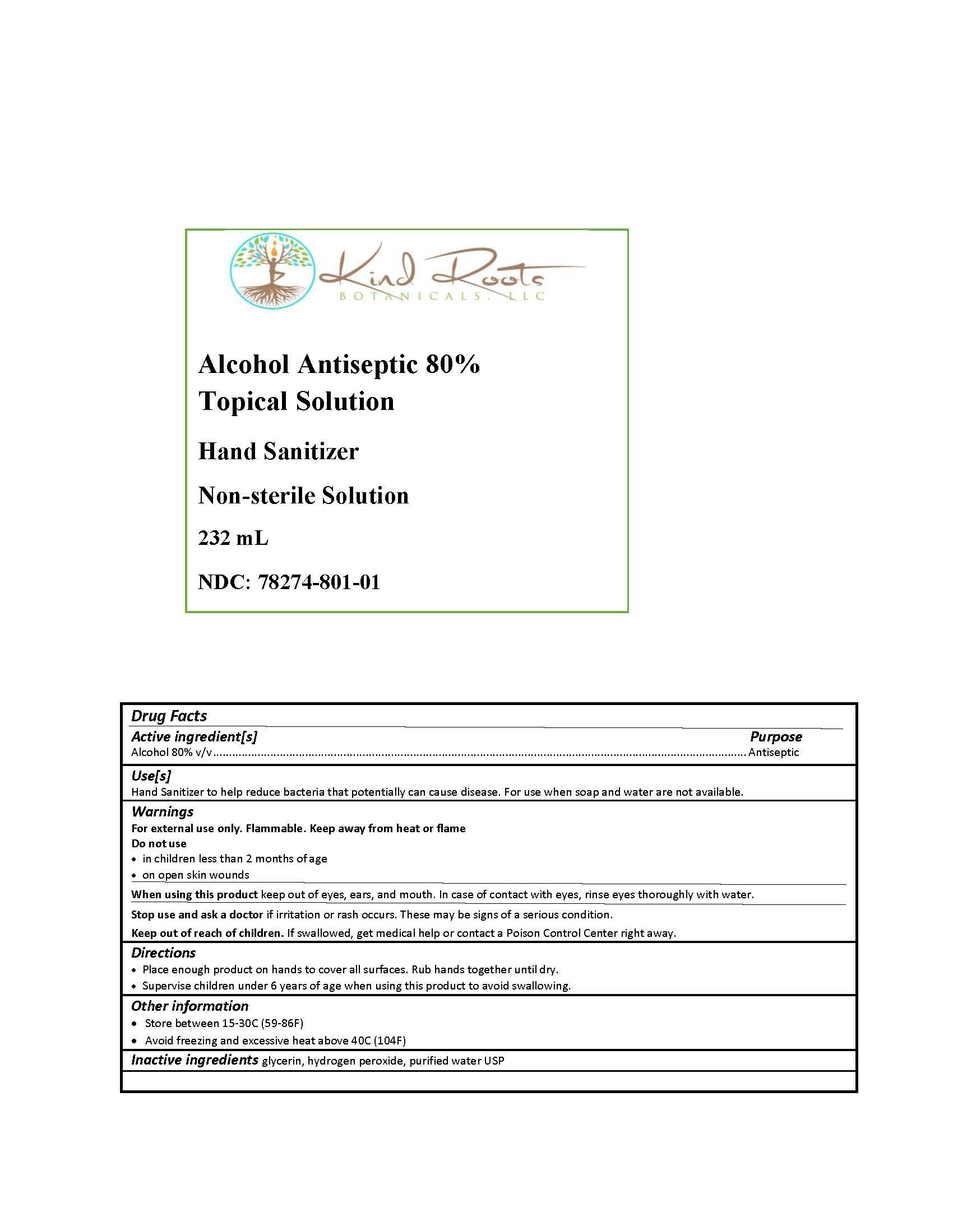 232 ml label