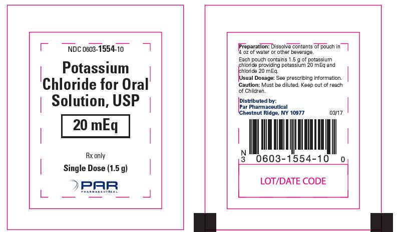 PRINCIPAL DISPLAY PANEL - 1.5 g Pouch Label
